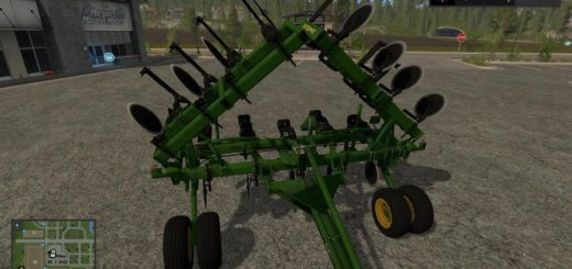 Мод плуг JD 2100 PLOW 8 FT WINGS V1.1 FS17