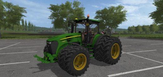 Мод трактор JD7930 TWINWHEELS V1.0 FS17