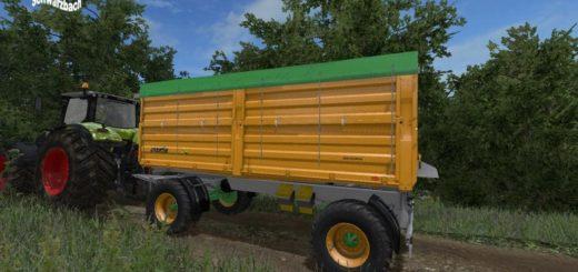 Мод прицеп JOSKIN TETRA CAP 5025 19DR160 V1.0 Farming Simulator 2017