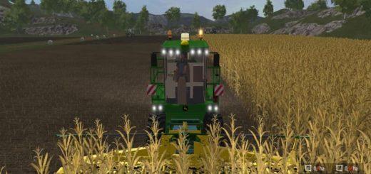 Мод комбайн JOHN DEERE 7950I V1.0 Farming Simulator 2017