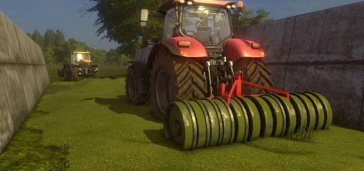Мод катки METALTECH SILO-ROLLER PACK V1.0.0.0 Farming Simulator 2017