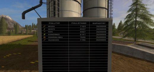 Мод скрипт More Storage Capacity v 1.0 Farming Simulator 17