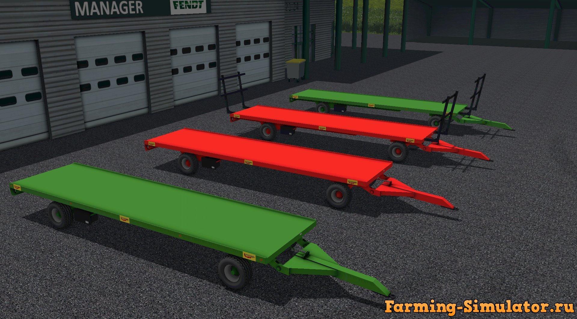 Мод прицеп PLATEAU LEGRAND V1.0 Farming Simulator 2017