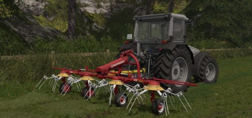 Мод сеноворошилка POETTINGER HIT 47 N V1.0.0.0 Farming Simulator 17
