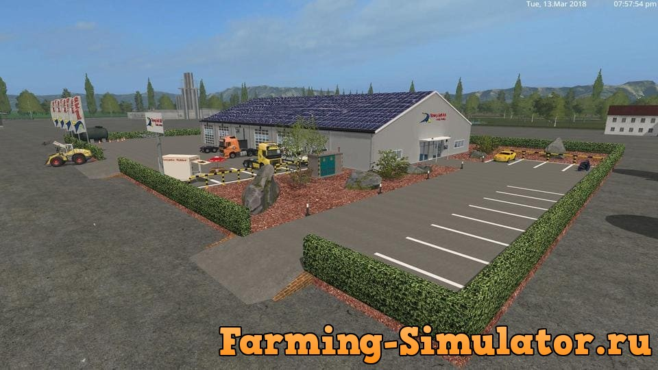 Мод RONNY SELL WORKSHOP V3.1 Farming Simulator 2017