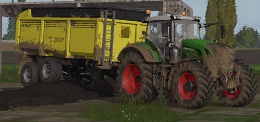 Мод прицеп STROM TC 21000 V1.0.0.0 Farming Simulator 2017