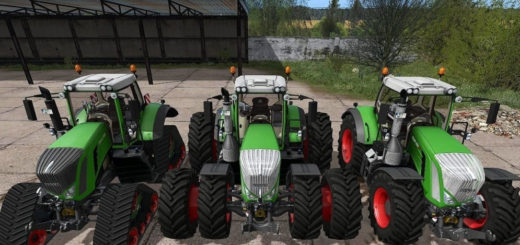 Мод трактор Fendt 900 S4 Profi Plus V1.0 Farming Simulator 17