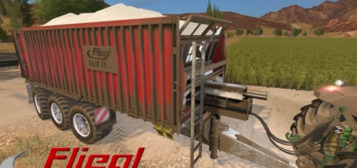 Мод прицеп Fliegl ASW 381 v1.1 Farming Simulator 17