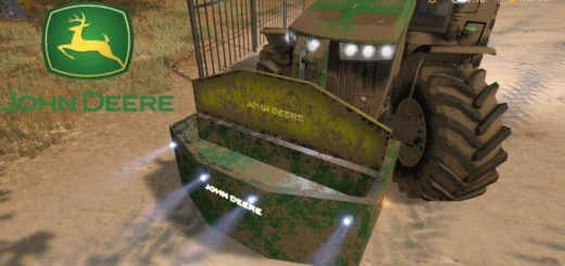 Мод противовес John Deere 1250 Weight v1.0 Farming Simulator 17