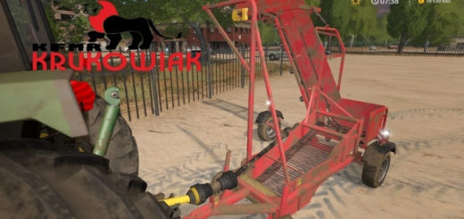 Мод Krukowiak Z437 v1.6 Farming Simulator 2017