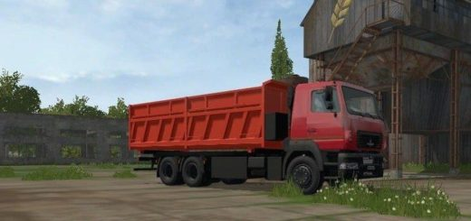 Мод грузовик МАЗ-6501B9-470-031 Фермер Симулятор 2017