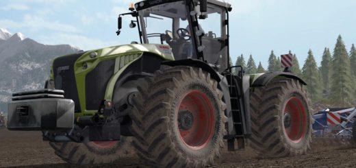 Мод трактор CLAAS XERION V1.0.0.0 Farming Simulator 2017