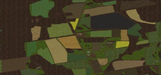 Мод карта CRAWFORD FARMS V1.0.0.2 FS17