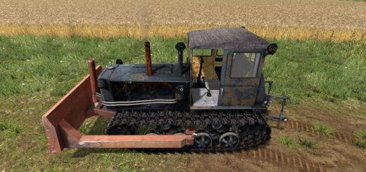 Мод трактор ДТ-54 v1.0 Фермер Симулятор 2017