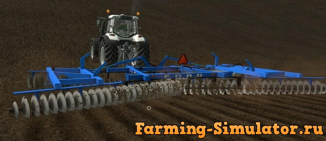 Мод плуг FORD DISC 242 V1.0 Farming Simulator 17