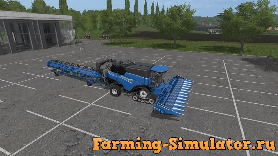 Мод комбайн NEW HOLLAND CR1090 PACK V1.0 Farming Simulator 2017