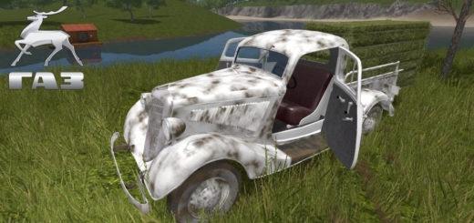 Мод авто ГАЗ М415 v1.1 Фарминг Симулятор 2017