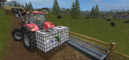 Мод HOMEMADE IBC FRONT TANK V1.0.0.1 Farming Simulator 17