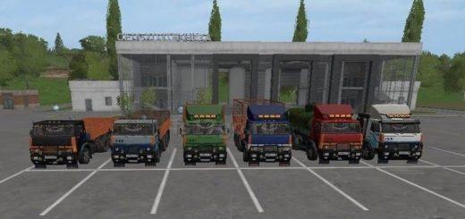 Мод грузовик Kamaz 5320 Collective V1.2.1 Фермер Симулятор 2017