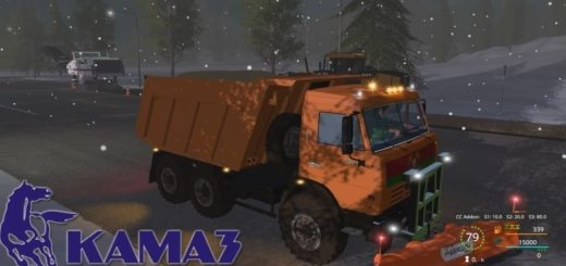 Мод грузовик КамАЗ 65115 v3.1 Фермер Симулятор 2017