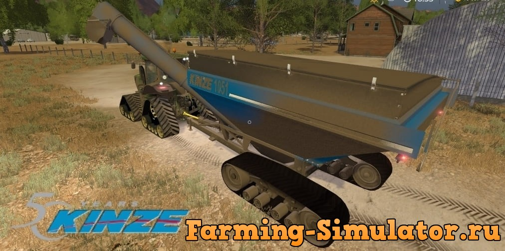 Мод прицеп Kinze 1051 v1.0 Farming Simulator 17