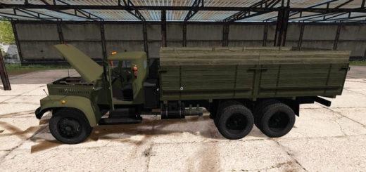 Мод грузовик KрАЗ-257 v1.0 Фарминг Симулятор 2017