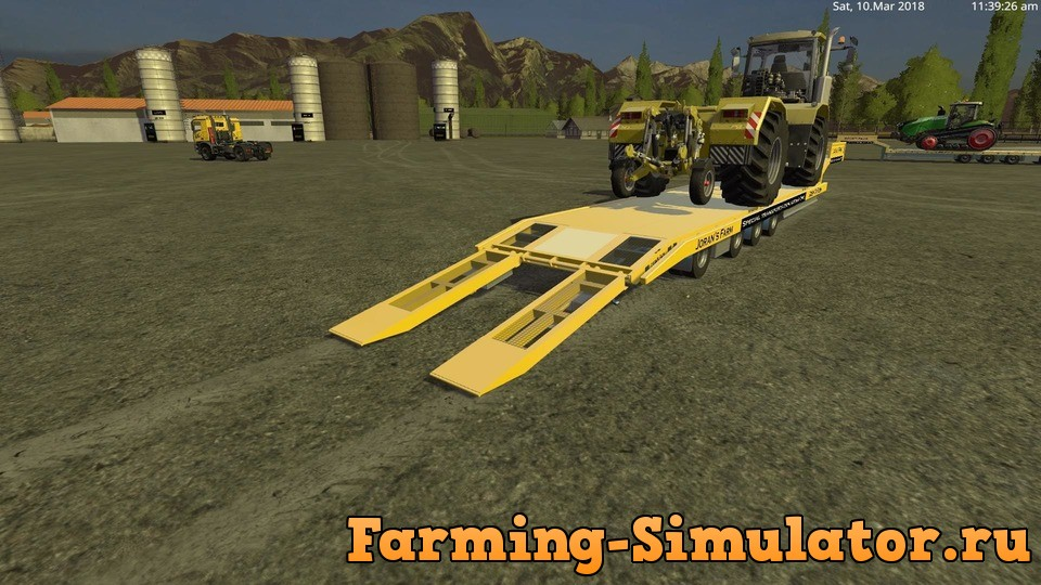 Мод ПАК LOW LOADER WITH MB AROCS V1.0 FS17