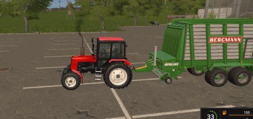 Мод трактор МТЗ 1025 v4.0 Фарминг Симулятор 2017