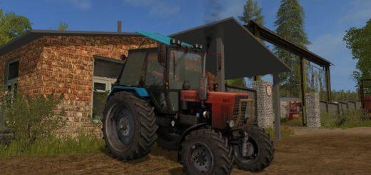 Мод трактор МТЗ 82.1 moreRealistic v2.1 Фарминг Симулятор 2017