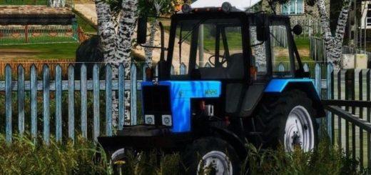 Мод трактор МТЗ 82 v2 Фарминг Симулятор 2017