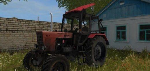 Мод трактор МТЗ Беларус 82.1 МТЗ v2.0 Фермер Симулятор 2017