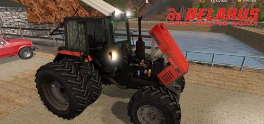 Мод трактор МТЗ-820 Погрузчик v2.0 Фарминг Симулятор 2017