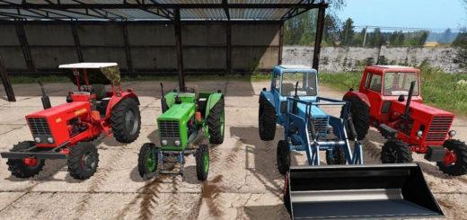 Мод ПАК трактора МТЗ-80/82/510/512 V1.3 Фермер Симулятор 2017