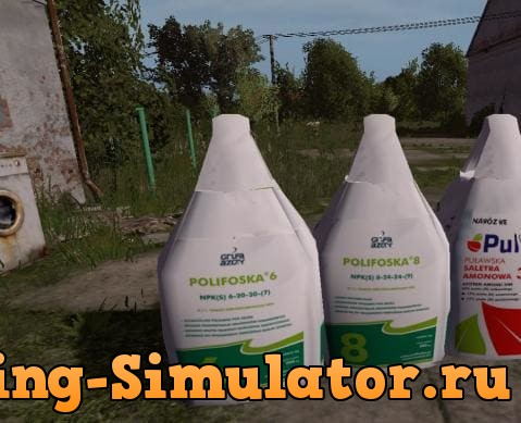 Мод POLISH FERTILIZERS BIG BAG V2.0 Farming Simulator 2017