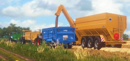 Мод прицеп RICHARD WESTERN GR30 V1.0.0.1 Farming Simulator 17