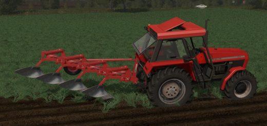 Мод ПАК плугов UNIA TUR 4 & 5 SKIBOWS V1.1 Farming Simulator 2017
