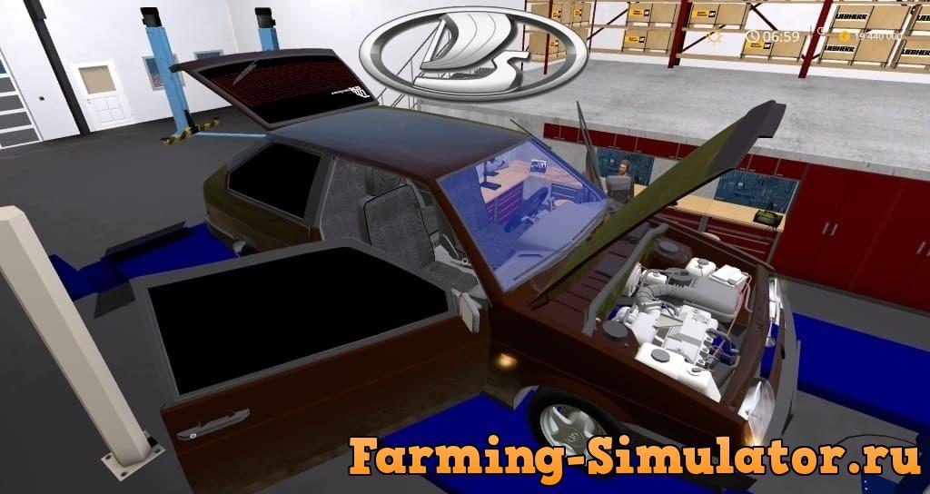Мод авто ВАЗ-21083 v1.0 Фарминг Симулятор 2017