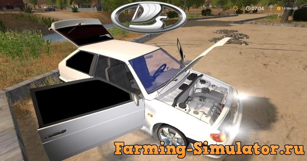 Мод авто ВАЗ-2113 v1.0 Фарминг Симулятор 2017