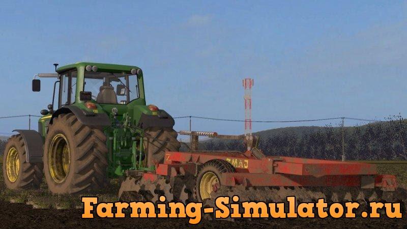 Мод культиватор ZMAJ Z828 V1.0 Farming Simulator 2017