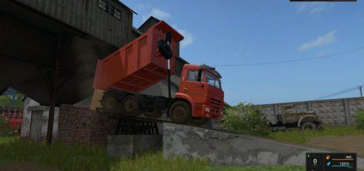 Мод грузовик КамАЗ-65115 v1.1 Фарминг Симулятор 2017