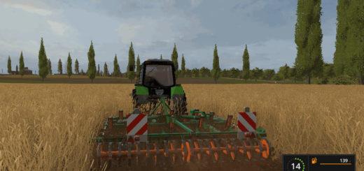 Мод культиватор AMAZONE CENIUS 4002-2 V1.1 Farming Simulator 2017