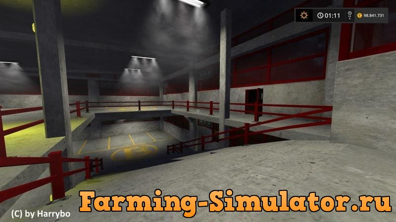 Мод CAR PARK V1.0 Farming Simulator 2017