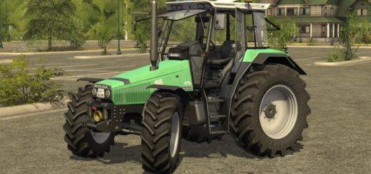 Мод трактор DEUTZ AGROSTAR 6.08 - 6.38 DH V1.0.0.0 Farming Simulator 17