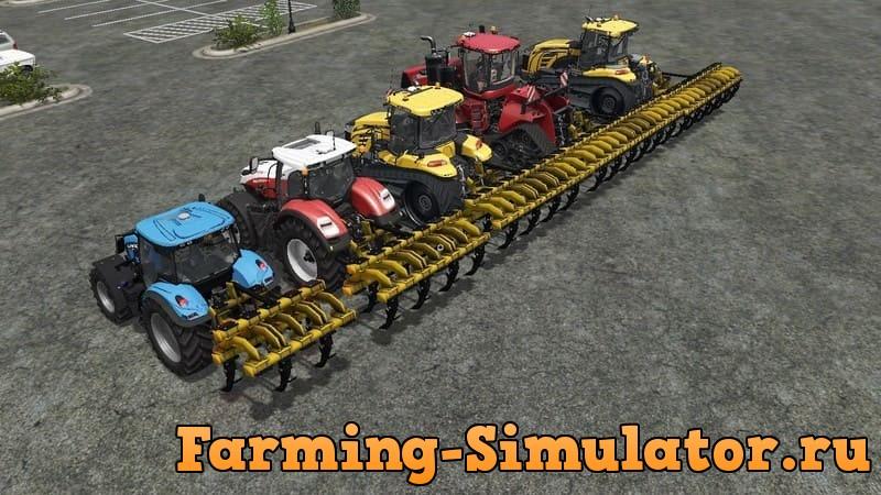 Мод ПАК плугов DONDI 800 V1.0 Farming Simulator 2017