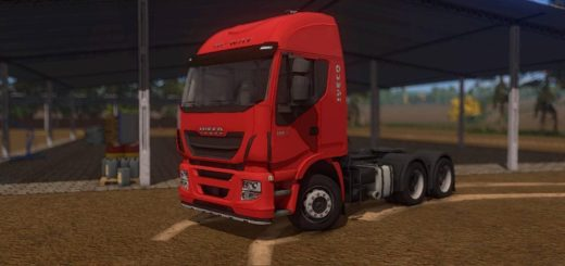 Мод тягач IVECO HI-WAY V1.0.0.0 Farming Simulator 2017