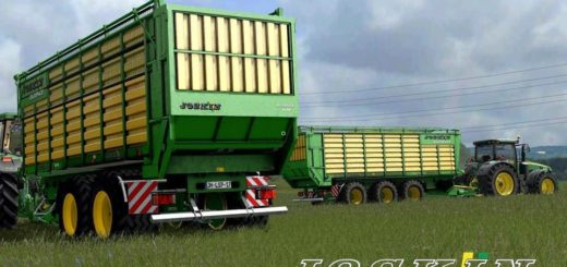 Мод прицепы JOSKIN SILOSPACE PACK MR V1.1.2.2 Farming Simulator 17