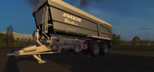 Мод прицеп JOSKIN TRANS SPACE 7000 V1.0.0 Farming Simulator 2017