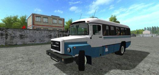 Мод автобус КАВЗ KAVZ 3976 V1.0 Фермер Симулятор 2017