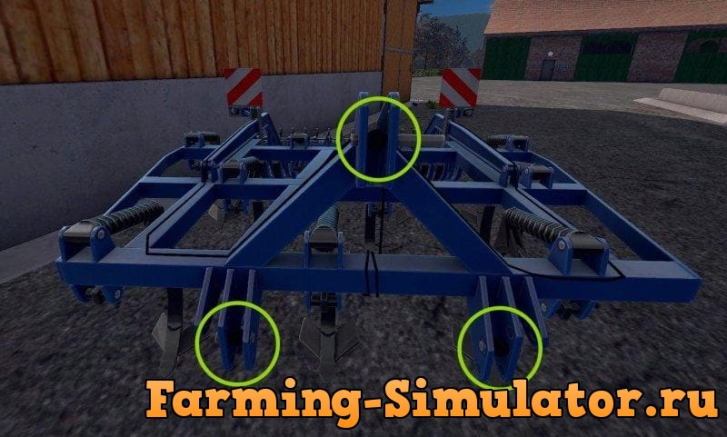 Мод культиватор KOCKERLING TRIO 300M – DH V1.0 Farming Simulator 17