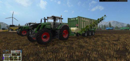 Мод прицеп KRONE X550GD RAKE V2.0 Farming Simulator 17